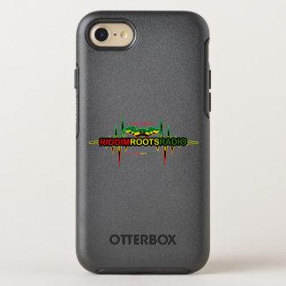 Capa Para iPhone 8/7 OtterBox Symmetry Riddim enraíza o caso de rádio da simetria do