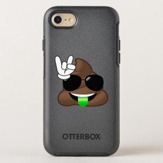 Capa Para iPhone 8/7 OtterBox Symmetry Rocha em capas de iphone de Emoji do tombadilho