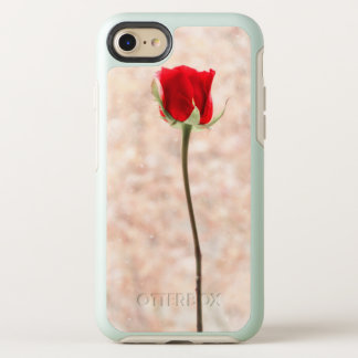 Capa Para iPhone 8/7 OtterBox Symmetry Rosa vermelha bonita