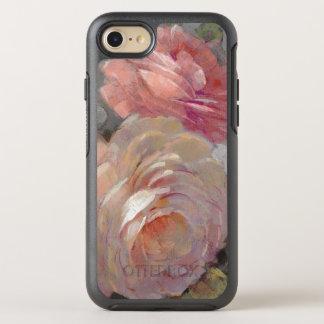 Capa Para iPhone 8/7 OtterBox Symmetry Rosas com cinzas