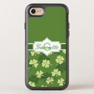 Capa Para iPhone 8/7 OtterBox Symmetry Rua verde personalizada Patricks do trevo