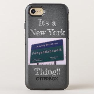 Capa Para iPhone 8/7 OtterBox Symmetry Saindo de Brooklyn New York Fuhgeddaboudit