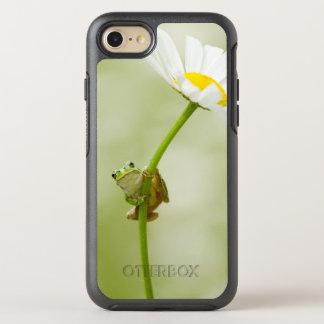 Capa Para iPhone 8/7 OtterBox Symmetry Sapo em uma margarida