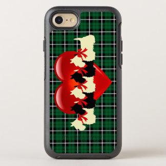 Capa Para iPhone 8/7 OtterBox Symmetry Scottish verde irlandês verde Terrier de Kelly,