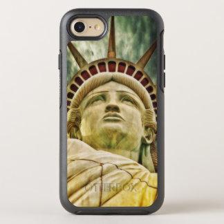 Capa Para iPhone 8/7 OtterBox Symmetry Senhora Liberdade, estátua da liberdade