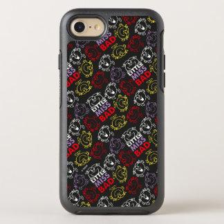 Capa Para iPhone 8/7 OtterBox Symmetry Senhorita pequena Mau teste padrão preto, vermelho