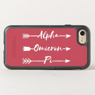 Capa Para iPhone 8/7 OtterBox Symmetry Seta alfa de Omicron Pi