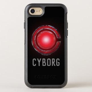 Capa Para iPhone 8/7 OtterBox Symmetry Símbolo de incandescência do Cyborg da liga de
