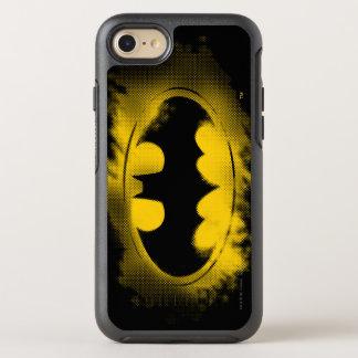 Capa Para iPhone 8/7 OtterBox Symmetry Símbolo logotipo preto e amarelo de | de Batman