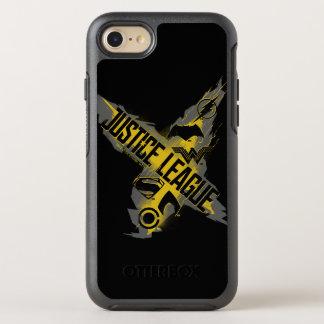 Capa Para iPhone 8/7 OtterBox Symmetry Símbolos da liga & da equipe de justiça da liga de
