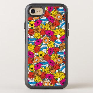 Capa Para iPhone 8/7 OtterBox Symmetry Sr. Homem & caras de sorriso brilhantes pequenas