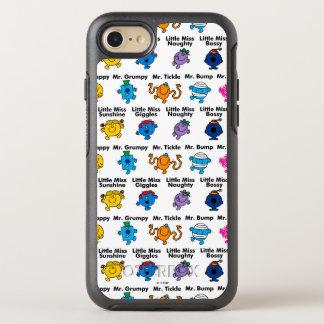 Capa Para iPhone 8/7 OtterBox Symmetry Sr. Homem & nomes pequenos do caráter da senhorita