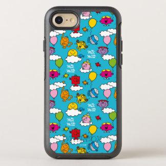 Capa Para iPhone 8/7 OtterBox Symmetry Sr. Homem & pássaros & balões pequenos da