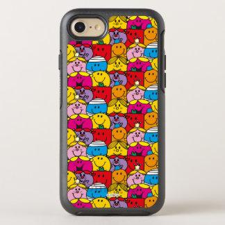 Capa Para iPhone 8/7 OtterBox Symmetry Sr. Homem & senhorita pequena   em um teste padrão
