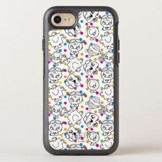 Capa Para iPhone 8/7 OtterBox Symmetry Sr. Homem & teste padrão de bolinhas pequeno do