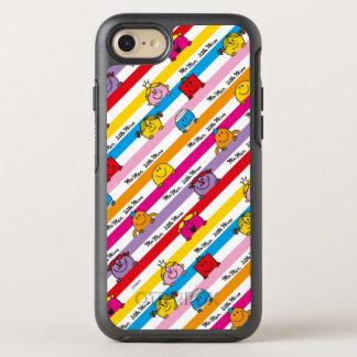 Capa Para iPhone 8/7 OtterBox Symmetry Sr. Homem & teste padrão pequeno das listras do