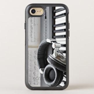 Capa Para iPhone 8/7 OtterBox Symmetry Teclado de piano elétrico
