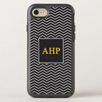 Capa Para iPhone 8/7 OtterBox Symmetry Teste padrão alfa do ró   Chevron de Eta