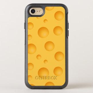 Capa Para iPhone 8/7 OtterBox Symmetry Teste padrão amarelo do queijo