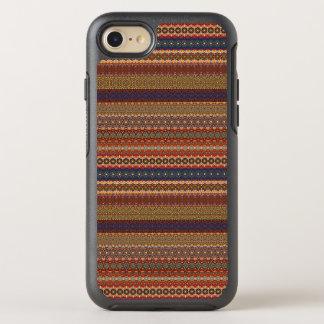 Capa Para iPhone 8/7 OtterBox Symmetry Teste padrão asteca tribal do vintage