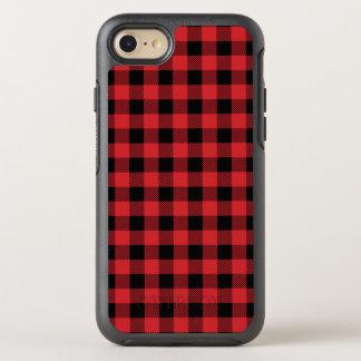 Capa Para iPhone 8/7 OtterBox Symmetry Teste padrão clássico da xadrez da verificação do