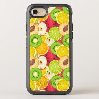 Capa Para iPhone 8/7 OtterBox Symmetry Teste padrão colorido da fruta do divertimento