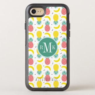 Capa Para iPhone 8/7 OtterBox Symmetry Teste padrão colorido da fruta tropical
