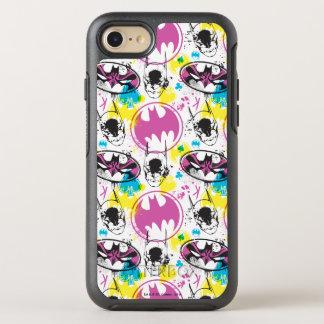 Capa Para iPhone 8/7 OtterBox Symmetry Teste padrão de código 3 da cor de Batman