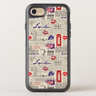 Capa Para iPhone 8/7 OtterBox Symmetry Teste padrão do jornal de Londres