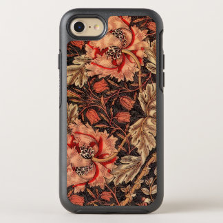 Capa Para iPhone 8/7 OtterBox Symmetry Teste padrão floral da madressilva do damasco do