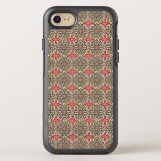 Capa Para iPhone 8/7 OtterBox Symmetry Teste padrão floral étnico abstrato colorido de da