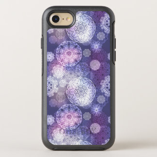 Capa Para iPhone 8/7 OtterBox Symmetry Teste padrão luxuoso floral da mandala