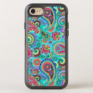 Capa Para iPhone 8/7 OtterBox Symmetry Teste padrão sem emenda colorido na moda de