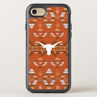 Capa Para iPhone 8/7 OtterBox Symmetry Teste padrão tribal nativo da Universidade do
