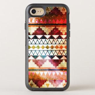 Capa Para iPhone 8/7 OtterBox Symmetry Tons tribais da jóia do impressão do espaço
