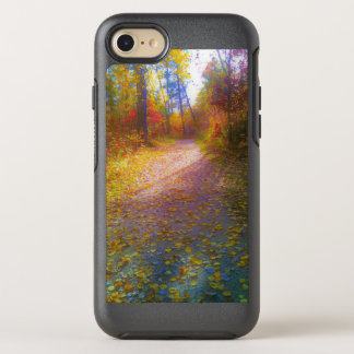 Capa Para iPhone 8/7 OtterBox Symmetry Trajeto através das madeiras na capa de telefone