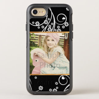 Capa Para iPhone 8/7 OtterBox Symmetry Transfira arquivos pela rede seu próprio floral da