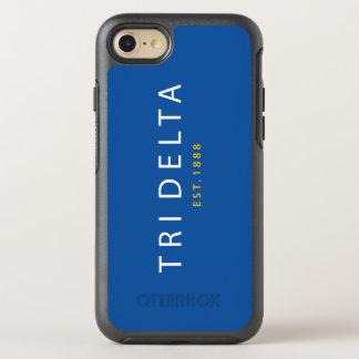 Capa Para iPhone 8/7 OtterBox Symmetry Tri delta | Est. 1888