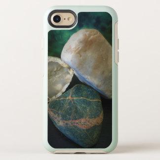 Capa Para iPhone 8/7 OtterBox Symmetry Trindade da rocha com fundo da floresta