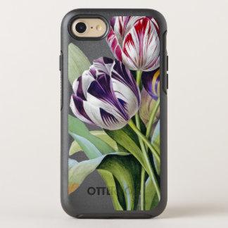 Capa Para iPhone 8/7 OtterBox Symmetry Trio das tulipas