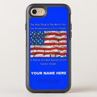 Capa Para iPhone 8/7 OtterBox Symmetry Uma nação dividida