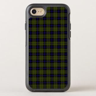 Capa Para iPhone 8/7 OtterBox Symmetry Verde do exército de Odee com a listra azul e