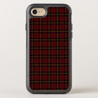 Capa Para iPhone 8/7 OtterBox Symmetry Vermelho de tijolo profundo com a listra amarela e
