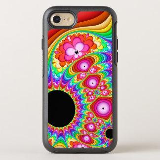 Capa Para iPhone 8/7 OtterBox Symmetry Viagem Groovy do Fractal