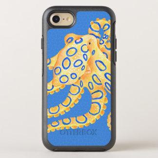 Capa Para iPhone 8/7 OtterBox Symmetry Vitral azul do polvo