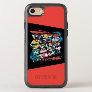 Capa Para iPhone 8/7 OtterBox Symmetry Voltron   vai força de Voltron