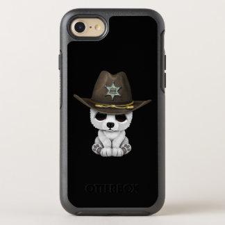 Capa Para iPhone 8/7 OtterBox Symmetry Xerife bonito de Cub de urso polar do bebê