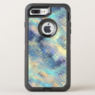Capa Para iPhone 8 Plus/7 Plus OtterBox Defender Abstrato moderado do vidro do arco-íris