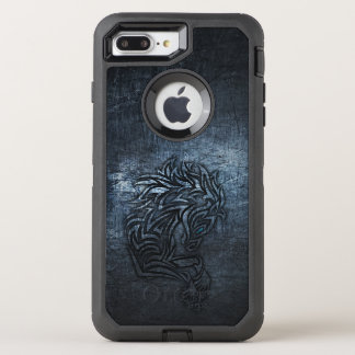 Capa Para iPhone 8 Plus/7 Plus OtterBox Defender Aço tribal do cavalo