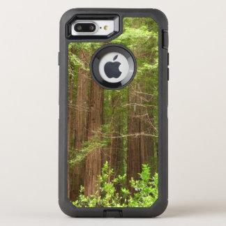 Capa Para iPhone 8 Plus/7 Plus OtterBox Defender Árvores da sequóia vermelha no monumento nacional